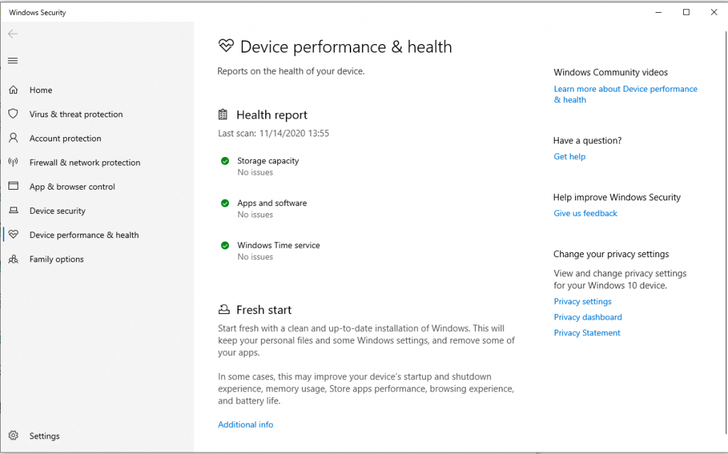 Windows fresh start Cara Membersihkan Windows 10 dan Meningkatkan Kapasitas Hardisk [Panduan Lengkap]