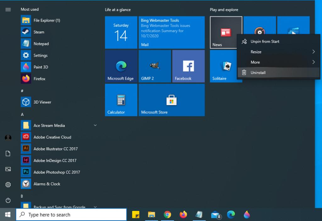hapus aplikasi bawaan windows Cara Membersihkan Windows 10 dan Meningkatkan Kapasitas Hardisk [Panduan Lengkap]