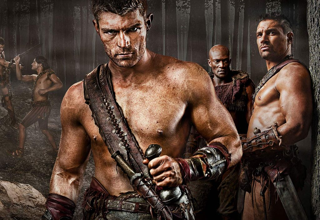 film serial spartacus di netflix