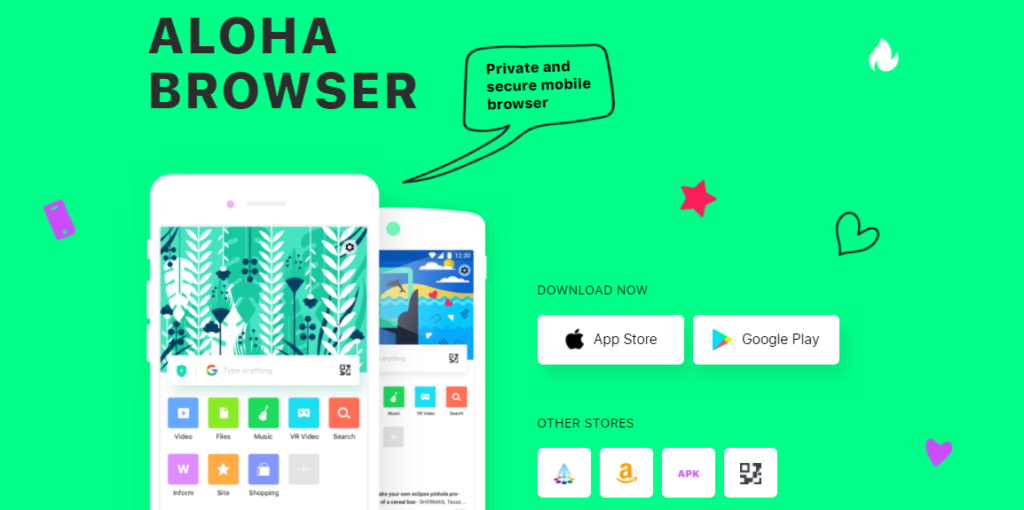 Download aloha browser android iphone