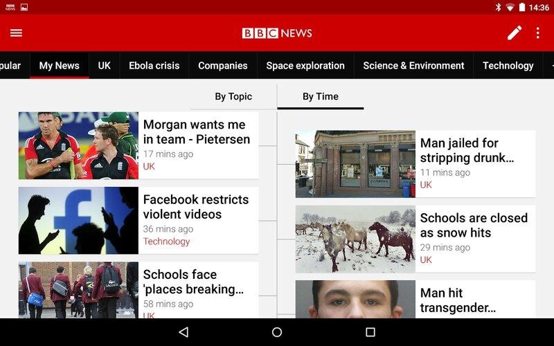 aplikasi berita dunia BBC News