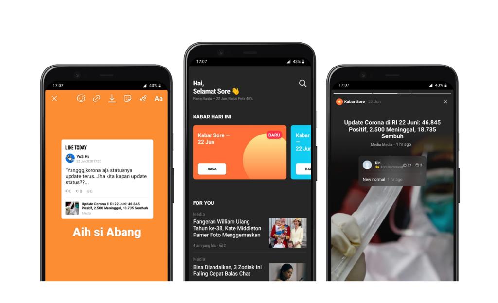 aplikasi berita line today