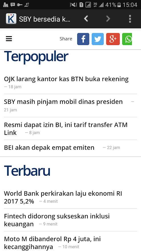 aplikasi berita ekonomi