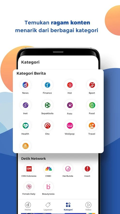 detikcom 2 15+ Aplikasi Berita Terbaik untuk Android