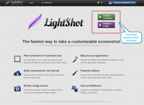 tutorial lightshot