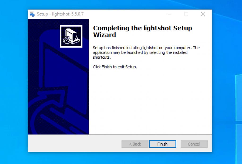 instalasi lightshot screenshot