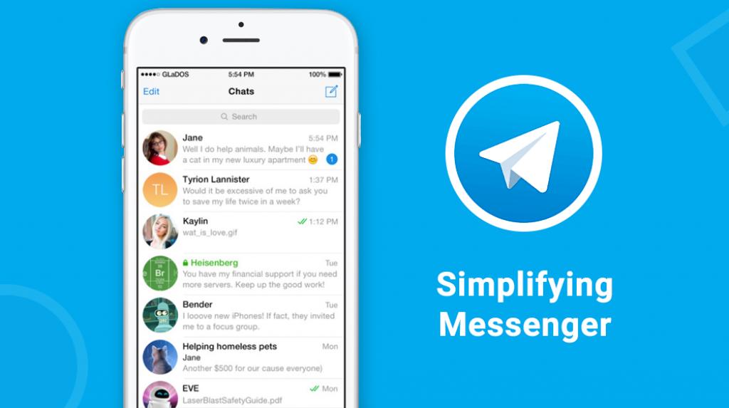 aplikasi chat aman selain whatsapp