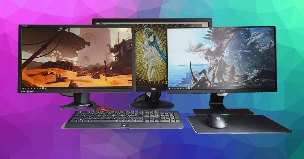 tipe panel monitor gaming
