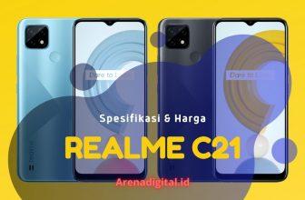 realme C21 spesifikasi & harga