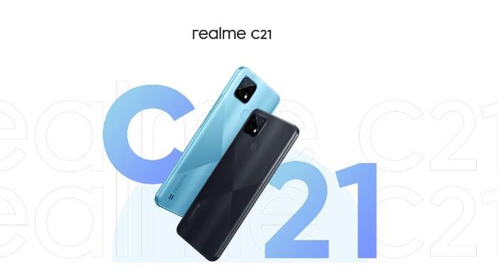 HP realme c21 murah
