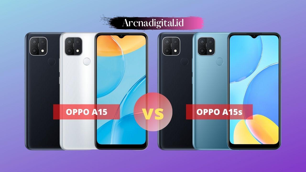 OPPO A15 vs A15s