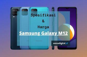 samsung galaxy m12 spesifikasi harga