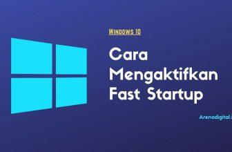mempercepat boot windows dengan fast startup