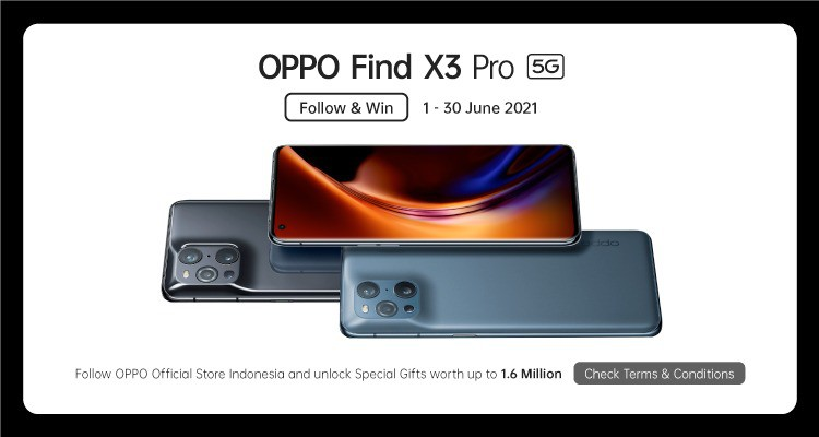 promo oppo find x3 pro 5g