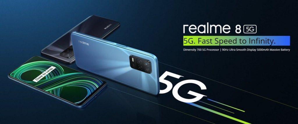 Realme 8 HP 5G 3 jutaan