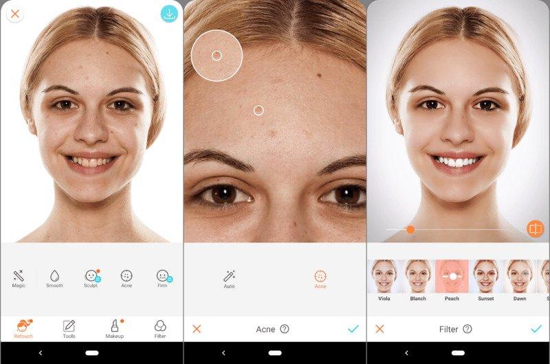 airbrush aplikasi edit foto selfie