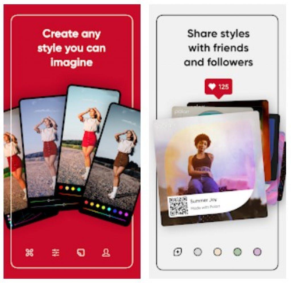 polarr app 1 15 Aplikasi Edit Foto Terbaik di Android, Dijamin Instagramable!